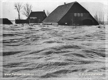 Foto behorende bij Regio herdenkt rampnacht van 1 februari 1953