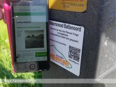 Foto behorende bij QR-codes doen omgeving meer leven