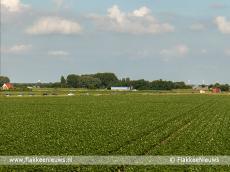 Foto behorende bij Verkeersinfarct bij Dirksland door NK Wielrennen