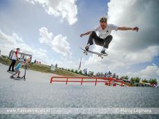 Foto behorende bij Nieuw skatepark in Middelharnis officieel geopend