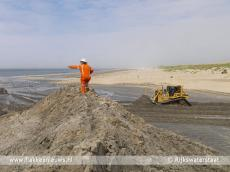 Foto behorende bij 500.000 kubieke meter zand voor Goeree