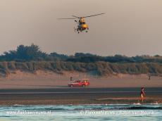 Foto behorende bij Succesvolle reddingsoefening op Ouddorpse strand