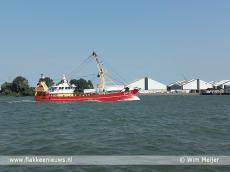 Foto behorende bij  Vissers voeren actie in Rotterdam