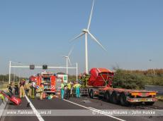 Foto behorende bij Ernstig ongeval nabij Haringvlietbrug A29