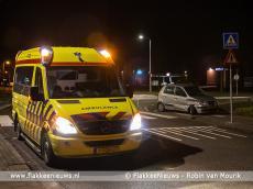 Foto behorende bij Ongeval met personenwagens in Middelharnis