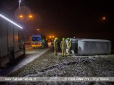 Foto behorende bij Ongevallen door gladheid op Goeree-Overflakkee