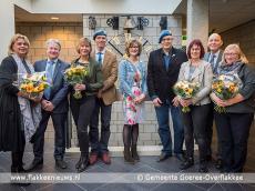 Foto behorende bij Burgemeester reikt draaginsignes Nobelprijs VN-Militairen uit