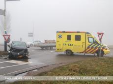 Foto behorende bij Twee ongevallen met gewonden in dichte mist