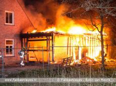 Foto behorende bij Getuigen gezocht van brandstichting Sommelsdijk