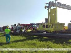 Foto behorende bij Wederom ongeval op de A29