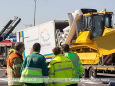 Foto behorende bij Grote vertraging op A29 door ernstig ongeval
